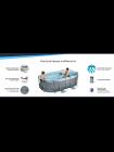 Каркасный бассейн Bestway Power Steel 5614A (305х200х84 см) с картриджным фильтром