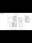 Клапан запорный р/р Leno MSV-S, DN15 Danfoss