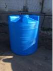 Емкость циллиндрическая V-1000 (голубой) Polimer Group