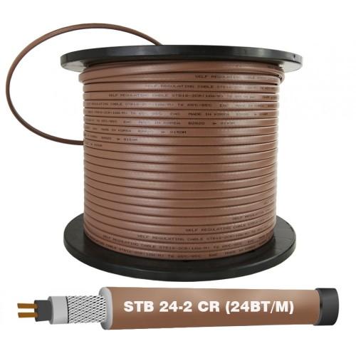 Греющий кабель EASTEC STB 30-2 CR M=30W (200м/рул.) Без оплетки купить в интернет магазине Санрай73