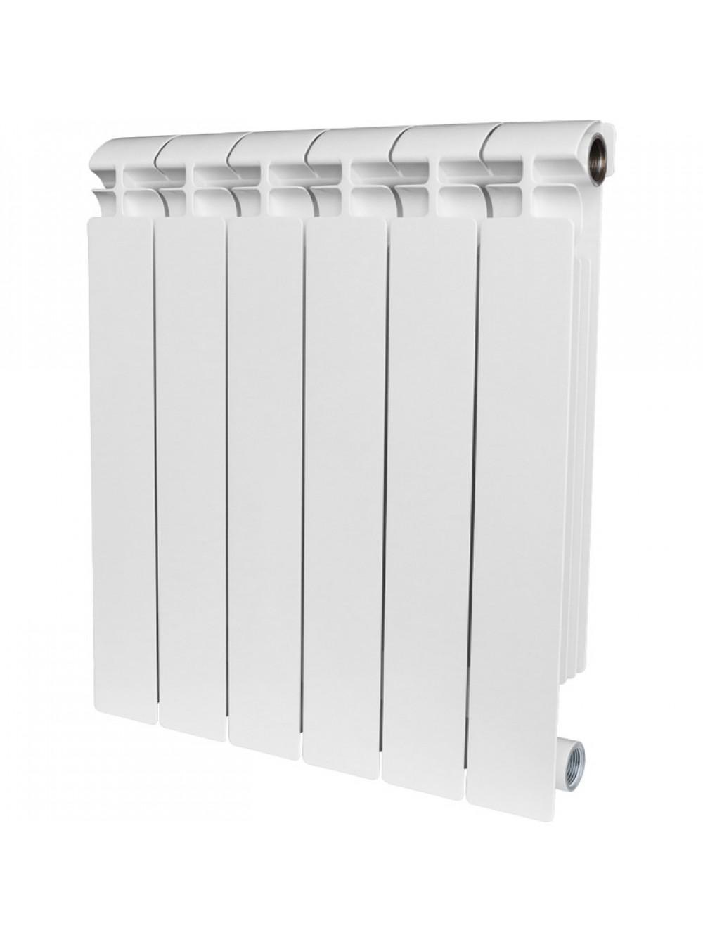 Биметаллический радиатор STOUT Alpha 500/80/8 секц