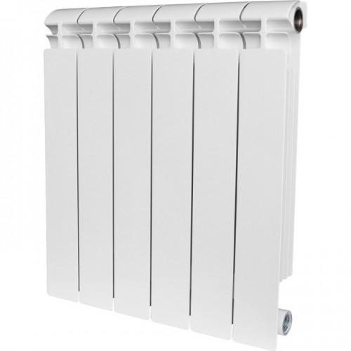Биметаллический радиатор STOUT Alpha 500/80/8 секц купить в интернет магазине Санрай73