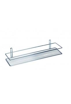 Полка для ванной комнаты прямая 1-ярус (ОЦ) Sanflor