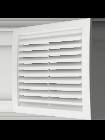 Вентеляционная решетка ERA 350*350 (разъемная)