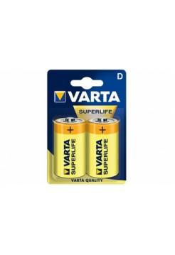 Батарейка R20 VARTA