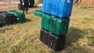 Пластиковый бак (емкость пластиковая) R-200 (емкость для питьевой воды) на 200 литров