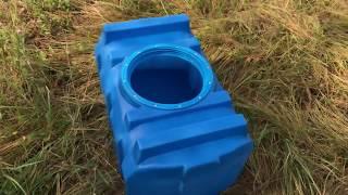 Пластиковая емкость (бак пластиковый) R-100 (емкость для питьевой воды) на 100 литров