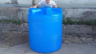 Пластиковый бак емкость для воды V 1000 - Полимер Групп