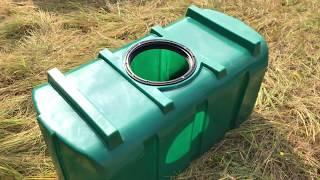 Пластиковый бак (пластиковая емкость) R-300 (емкость для питьевой воды) на 300 литров