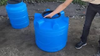 - 200 л пластиковый бак для воды серия V - Полимер Групп