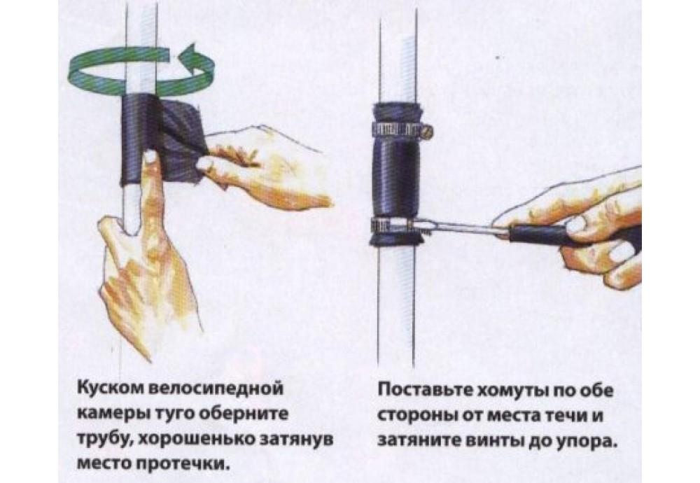Ремонт труб отопления своими руками