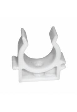 Клипса для металопластиковой трубы 16 мм белая