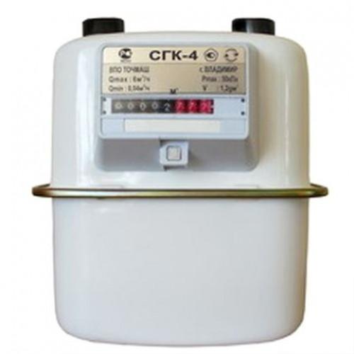 Счётчик газа под Владимир СГК-4 (Левый, верхний М30х2) купить в интернет магазине Санрай73