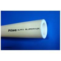 Труба полипропиленовая наружная армировка алюминий PILSA d63 (Pn20)