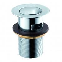 Выпуск click-clack металл 37 мм Frap F66-2 (хром)