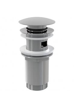Выпуск для умывальника Alcaplast A392 click-clack металл 62 мм