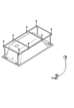 Монтажный комплект для ванны JIKA Ecliptica 180*80
