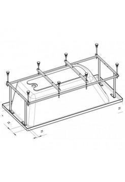 Монтажный комплект для ванны JIKA Floreana 150*75
