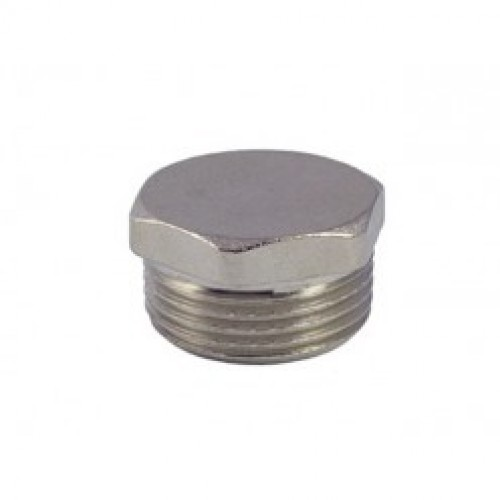 Заглушка    1/2 н.р. никель Vieir (800/20) купить в интернет магазине Санрай73