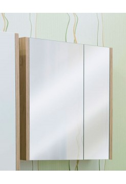 Зеркало Sanflor Ларго 70 R(белый, вяз швейцарский)