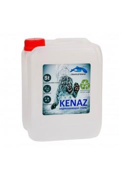"""Жидкое средство для очистки поверхностей из нержавеющей стали Kenaz """"Нержавеющая сталь"""" 0,8 л"""