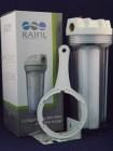 Фильтр магистральный RAIFIL 1 10 прозрачный корпус для холодной воды