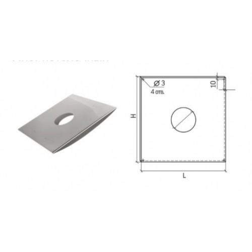Лист Потолочный Универсальный ЛПУ-Р 500x500 D130-150 купить в интернет магазине Санрай73