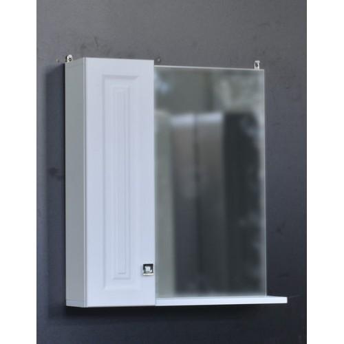 Зеркало-шкаф Клео-60 Белый софт 600*670*170мм СТК купить в интернет магазине Санрай73