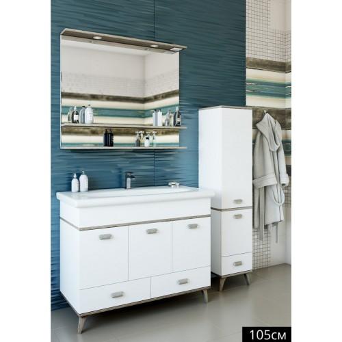 Зеркало БРУНО 105 (Б/Ор) Sanflor купить в интернет магазине Санрай73