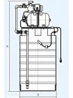 Бак для воды ATV 500 с насосной станцией JP 600A-тип2/тип3