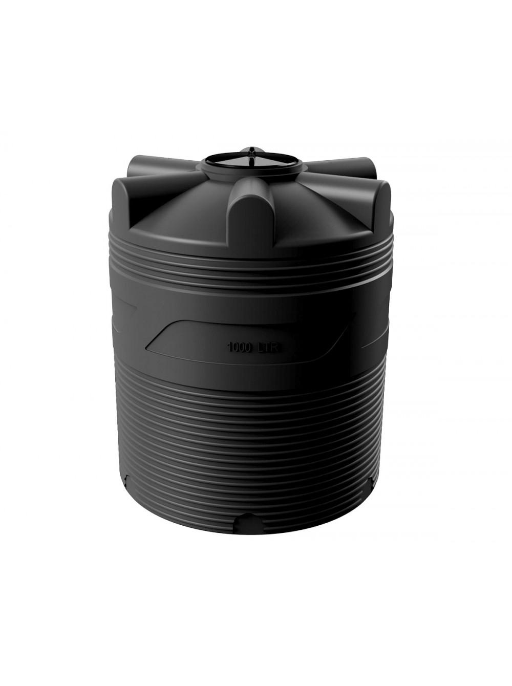 Емкость циллиндрическая V-1000 (черный) Polimer Group