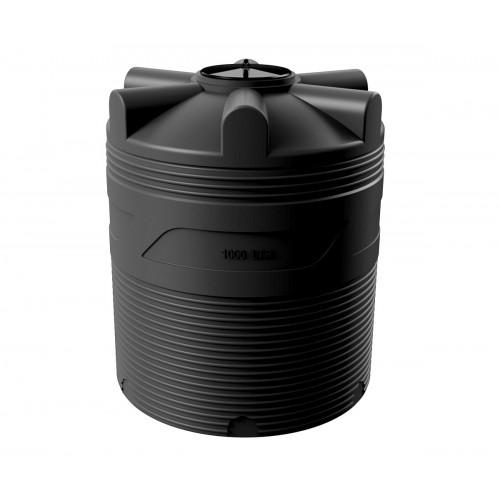 Емкость циллиндрическая V-1000 (черный) Polimer Group купить в интернет магазине Санрай73