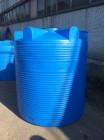 Емкость циллиндрическая V-3000 (голубой) Polimer Group