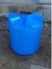 Емкость циллиндрическая V-500 (голубой) Polimer Group