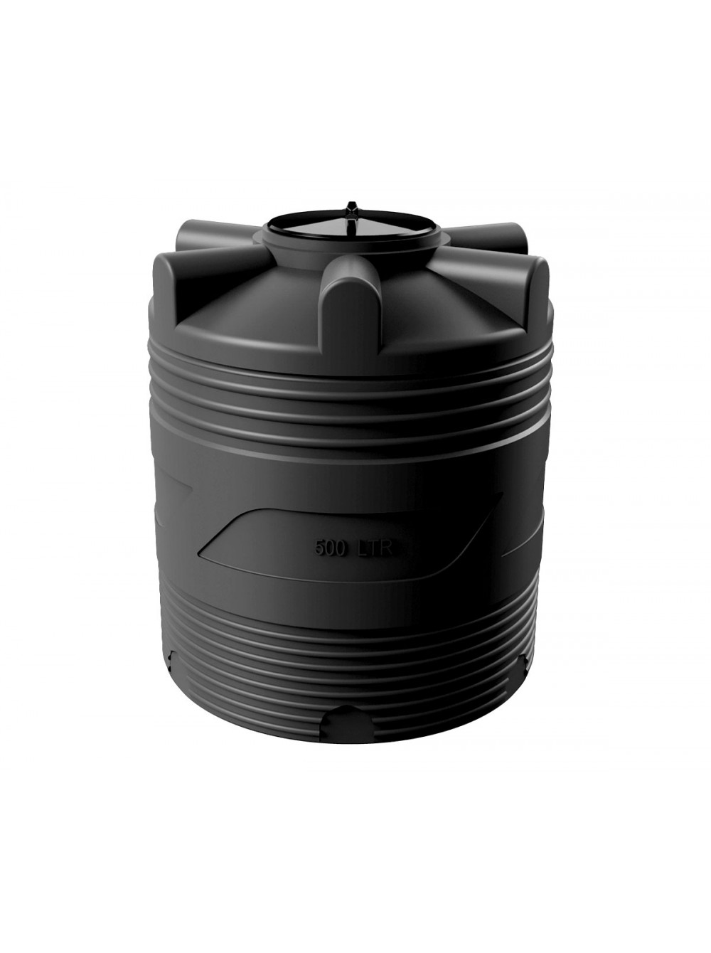 Емкость циллиндрическая V-500 (черный) Polimer Group