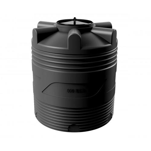 Емкость циллиндрическая V-500 (черный) Polimer Group купить в интернет магазине Санрай73