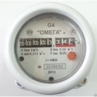 Счетчик газа роторный СГР G-4 ОМЕГА ДУ20 сварка