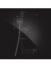 Штанга-поручень Elghansa SHOWER RAIL SB-329 90° с душевым комплектом, хром