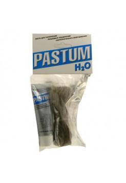 Комплект паста уплотнительная 70г PASTUM H2O + лен 15 г