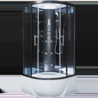 Душевая кабина Erlit ER5709TP-C24, 90*90*215, высокий поддон, зеркальная
