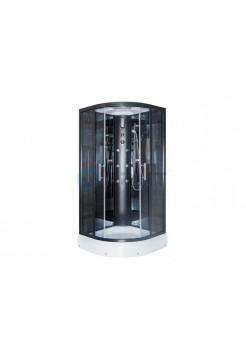 Душевая кабина Erlit ER5709P-C24, 90*90*215, низкий поддон, зеркальная