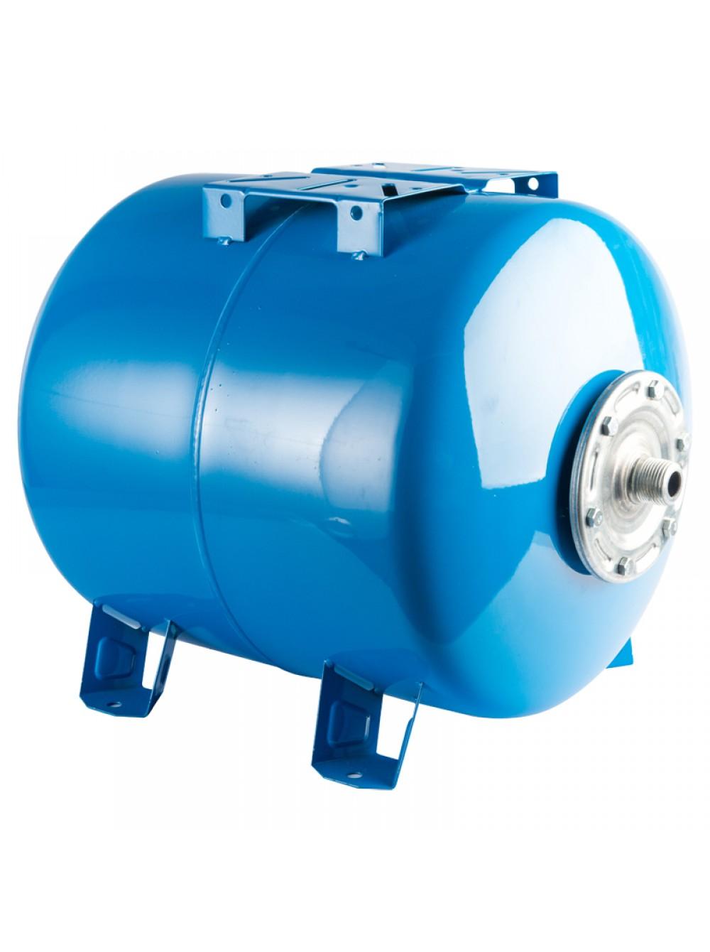 Гидроаккумулятор горизонтальный 80л Stout синий