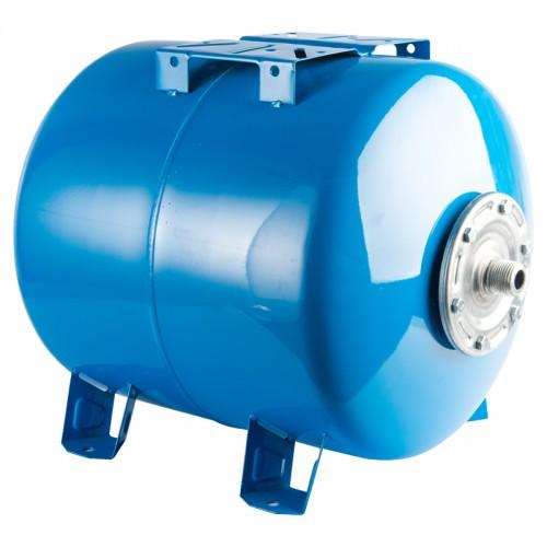 Гидроаккумулятор горизонтальный 80л Stout синий купить в интернет магазине Санрай73
