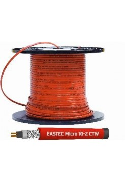 Греющий кабель EASTEC MICRO 10 - CTW, SRL 10-2CR M=10W, c пищевой оболочкой