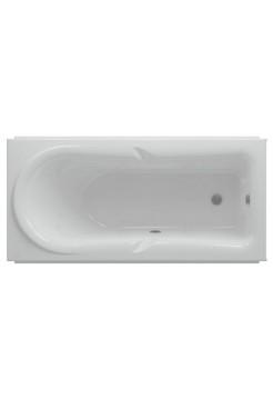 Ванна акриловая Леда 170*80 Акватек с фронт. панелью