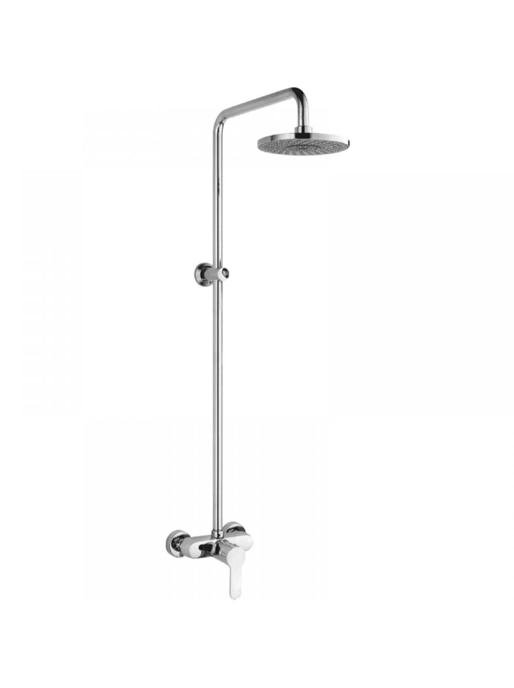 Душевая система Ledeme L2409-1, тропический душ, штанга, смеситель без излива